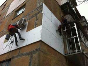 Наружная теплоизоляция зданий